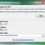 Google Books Downloader te permite descargar libros de Google en formato PDF y JPG