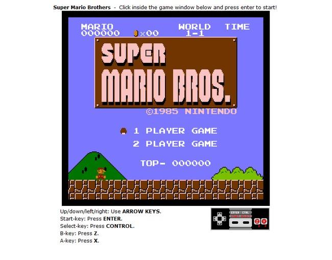Juega Tus Viejos Juegos De Nintendo Justo En El Navegador Wannabits