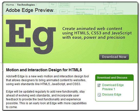 Adobe Edge Windows