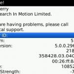 Cómo encontrar el código MEP de tu BlackBerry