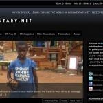 Documentary.net, el mejor sitio para ver documentales en línea.