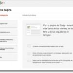 Cómo crear una página en Google+