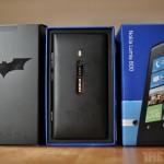 Galería de imágenes del Nokia Lumia 800 Dark Knight Rises Edición Limitada
