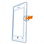 Cómo encender el teléfono Nokia Lumia 800