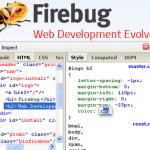 Firebug se actualiza con nuevas e interesantes mejoras