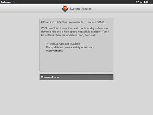 WebOS 3.0.5