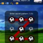 PatternLock una aplicación que te permite desbloquear tu BlackBerry con un patrón