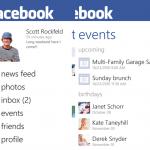 La aplicación oficial de Facebook para Windows Phone se actualiza. Incluye mejoras interesantes.