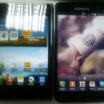 Batalla de Phablets: Samsung Galaxy Note vs. LG Optimus Vu