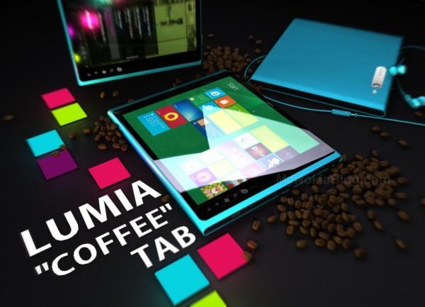 tableta nokia lumia coffee