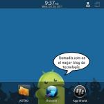 Cómo instalar aplicaciones Android en el BlackBerry PlayBook mediante sideloading.