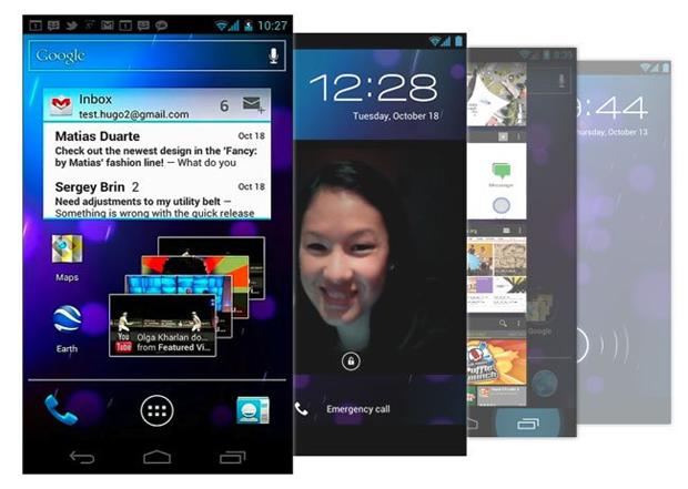Android 4.0.3 Ice Cream Sandwich en el Galaxy S II