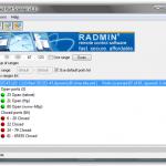 Utiliza Advanced Port Scanner 1.3 para escanear los puertos de una PC con Windows