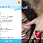 Microsoft lanza aplicación de Skype para Windows Phone