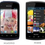 Kyocera revela sus nuevos teléfonos Android: Hydro y Rise.