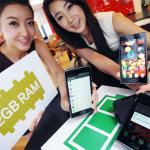 LG presenta el nuevo teléfono Optimus LTE 2. Viene con 2GB de RAM.