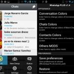 WhatsApp PLUS para Android te permite personalizar el aspecto de la aplicación de Whats App