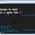 Yahoo lanza Axis: un plugin para navegadores web que de seguro cambiará la forma de buscar y navegar en la web.