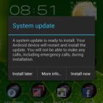 Cómo forzar el Galaxy Nexus LTE a que se actualice a Android 4.0.4