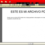 Crea y modifica archivos PDF online con PDFescape
