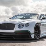 El nuevo Bentley Continental GT3 se deja ver en París