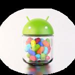 Descubre cuándo tú teléfono recibirá la actualización a Android 4.1 Jelly Bean