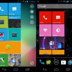 Haz que tu teléfono Android se vea como Windows Phone con Real Widget