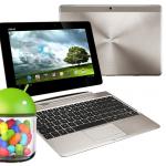 Asus libera actualización a Android 4.1 Jelly Bean para sus tabletas Transformer Prime y Transformer Pad Infinity