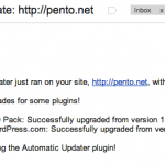 Automatic Updater instala las actualizaciones de WordPress automáticamente