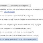 La última actualización de Google Chrome añade la funcionalidad de «Do Not Track». Descubre cómo activarla.
