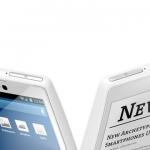 Los rusos lanzan su nuevo teléfono YotaPhone con dos pantallas, LCD y E-Ink.