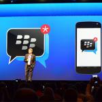 BlackBerry da el paso, lanzarán BlackBerry Messenger para iOS y Android este verano