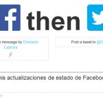 Cómo publicar tus actualizaciones de Facebook en Twitter con IFTTT