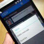 La nueva función de vídeo mensaje de Skype ya está disponible para iOS, Android, Windows, Mac y BlackBerry