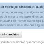 Twitter da marcha atrás y elimina la opción para que los usuarios reciban mensajes directos de cualquier seguidor