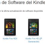 Amazon lanza la actualización Fire OS 3.1. Añade Goodreads y funciones de segunda pantalla.