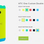 HTC lanza un nuevo case personalizable para el HTC One por 30 dólares