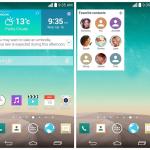 Impresiones de pantalla del LG G3 muestran una interfaz gráfica Optimus UI más plana