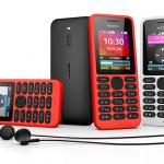 Microsoft Devices presenta el Nokia 130, un móvil ultra-económico con reproductor de música y vídeo por sólo 19 euros