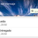 Cómo desactivar el doble tick azul en WhatsApp