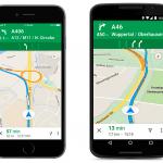 Google Maps ahora ofrecerá guía de carril a los conductores en Europa
