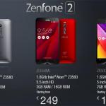 El ASUS Zenfone 2 llega a Europa con precios bastante asequibles