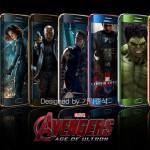 IronMan tendrá versión oficial de Samsung S6 y S6 Edge pero el resto de Vengadores se deja ver