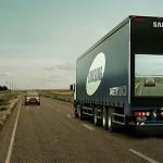 La nueva tecnología «Safety Truck» de Samsung te muestra lo que ve el conductor que va delante de ti