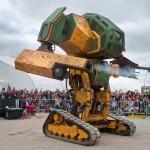 Estados Unidos desafía a Japón a una batalla de robots gigantes