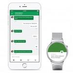 Google lanza Android Wear para iOS. Android Wear ahora funciona con el iPhone