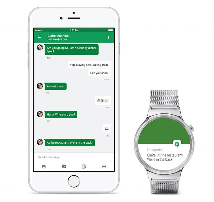 Android Wear para iOS
