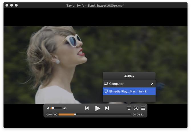 Elmedia Player para Mac
