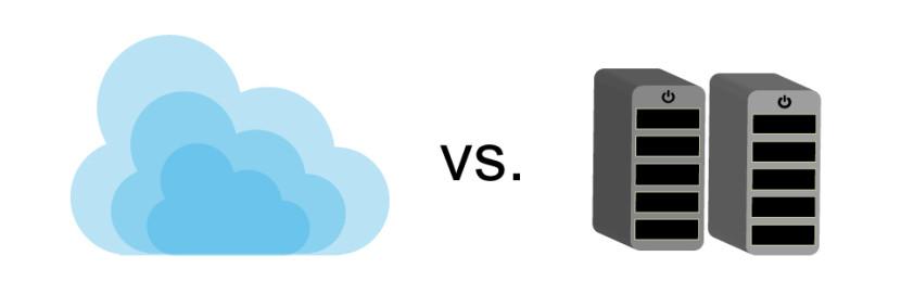 local vs la nube