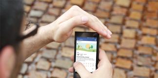 Facebook Tiempo Android